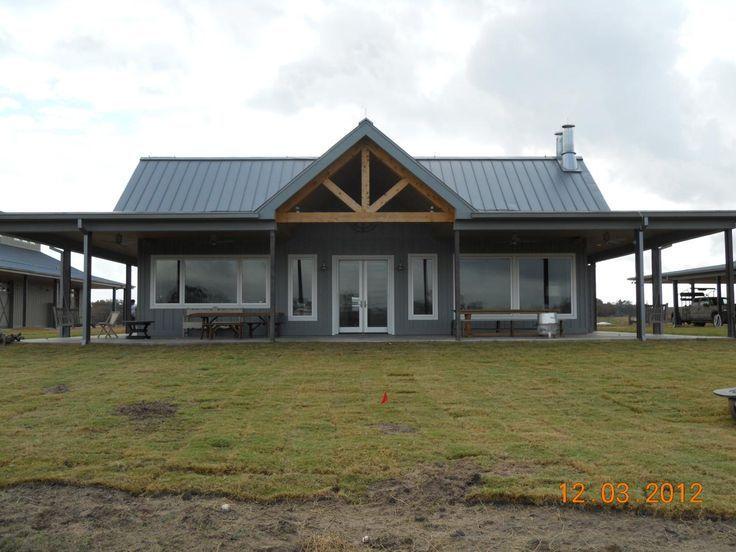 Awesome Metal Barndominium Home Large Garage Building House Plans Barn