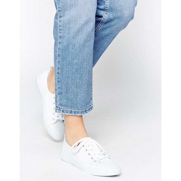 ASOS DAGNALL Canvas Lace Up Sneakers