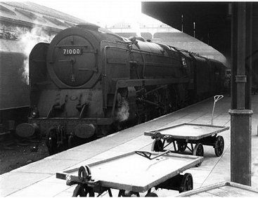 The Hornby BR 'Duke Of Gloucester' Standard Class 8 Train