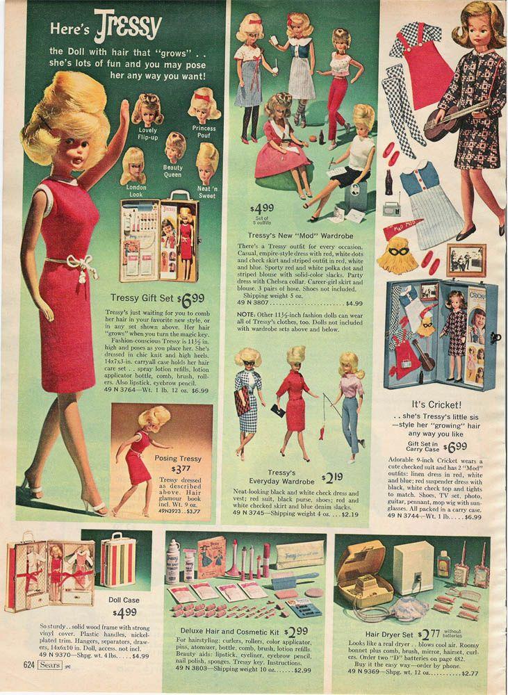 1966 PAPER AD Doll Barbie Color Magic Misty Tressy Francie Cousin Mod Ken Bends