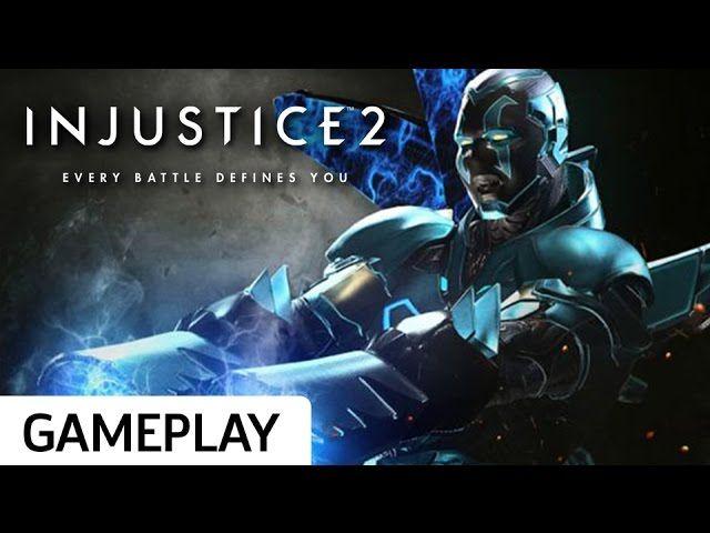 Injustice 2 Beta Blue Beetle Gameplay Game Site Reviews Blue Beetle Injustice Gameplay