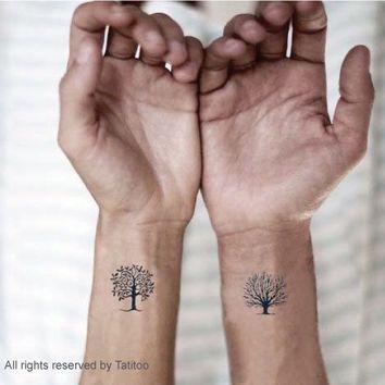 minimalist tree tattoo - Google Search   Body Art ...
