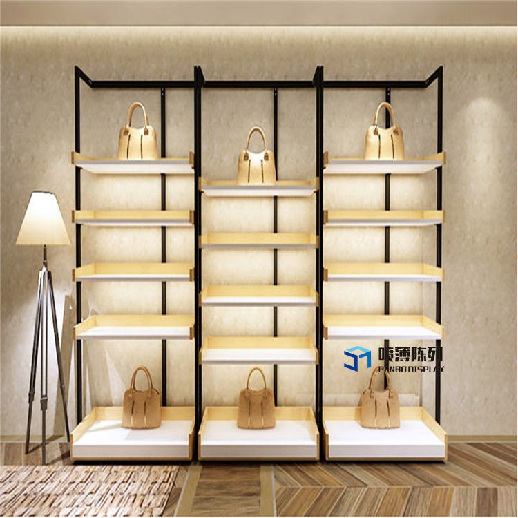 Luxury Cloth And Leather Bag Retail Designs Wooden Display Cabinets Cabinet Displaycabinet Bagretaildesigns