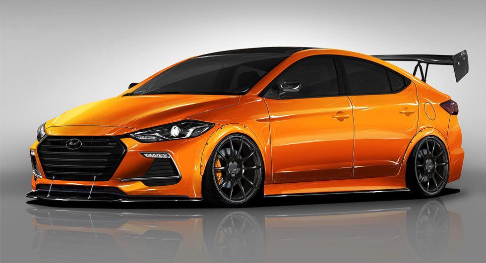 Hyundai BTR Edition Elantra Sport Concept Revs For SEMA