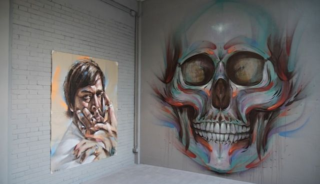 New Artworks by Streetartist Rems 182 (8 Pictures + Clip)