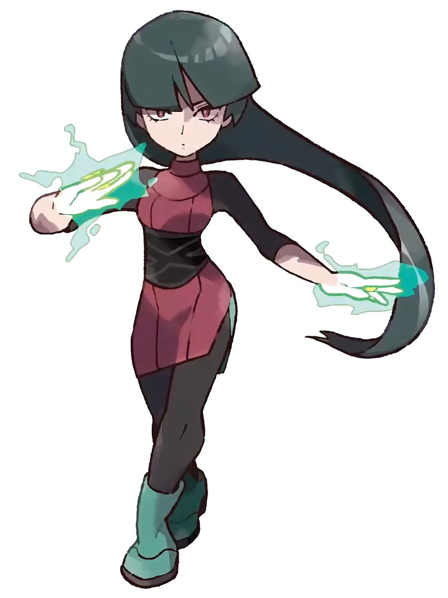 eec32d559 Sabrina character artwork from Pokémon: Let's Go, Pikachu! and Let's ...
