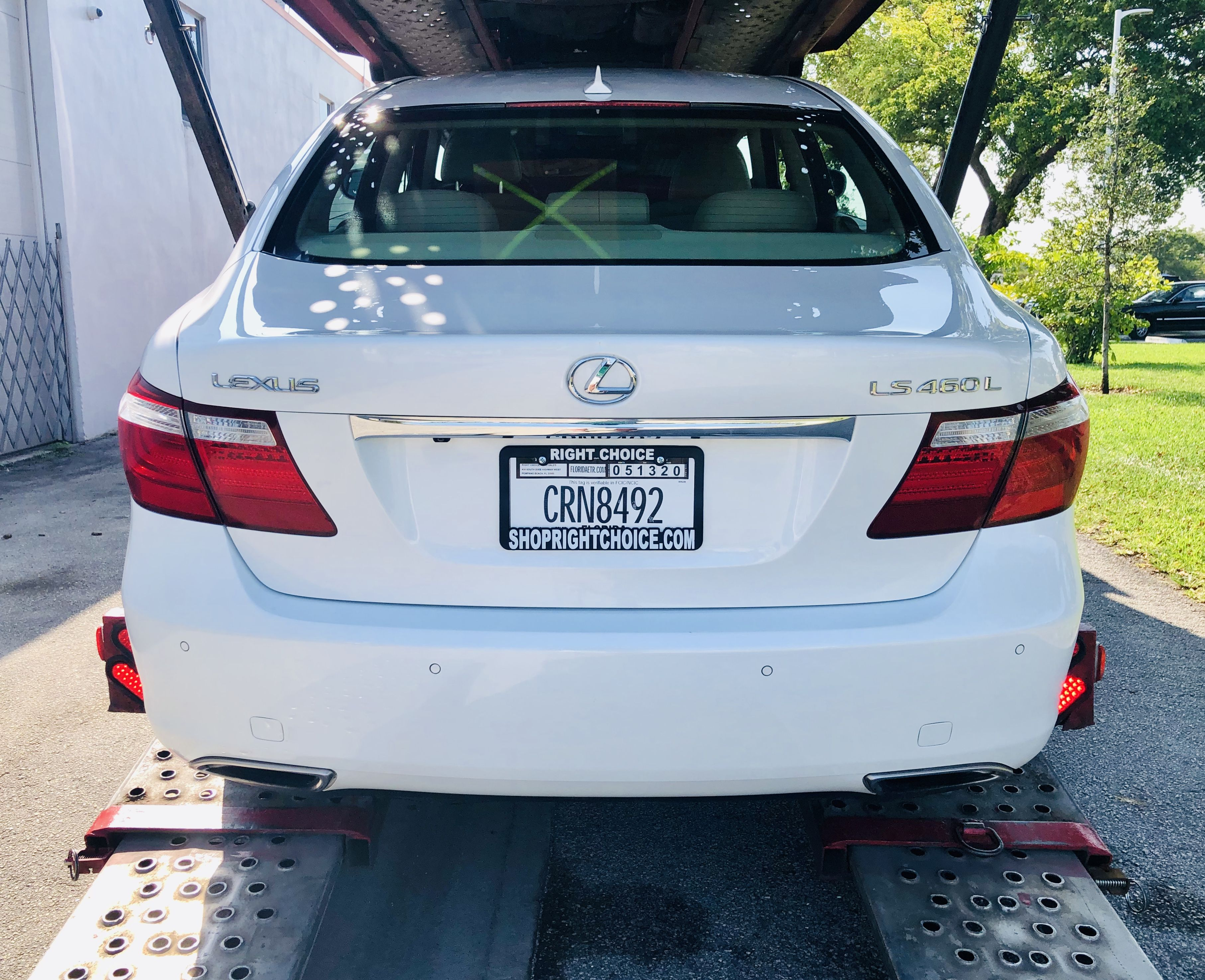 This gorgeous 2007 Lexus LS460 L is on its way to its new owner in Franklin, TN!  Right Choice Auto Sales in Pompano Beach, FL delivers the best used car deals in the country!  SHOPRIGHTCHOICE.COM for your next car!    #RightChoiceAutoSales #Lexus #LS460L #StarfirePearl #UsedLuxuryCars #FloridaCars #CarDelivery #GreatDeals #WeDeliverHappiness #BuyCarsFromHome #StaySafe #EnjoyLife #LuxuryForLess #SouthFlorida #CarDealer #UsedCars #CarsForSale #GreatDeals #ShopOnline