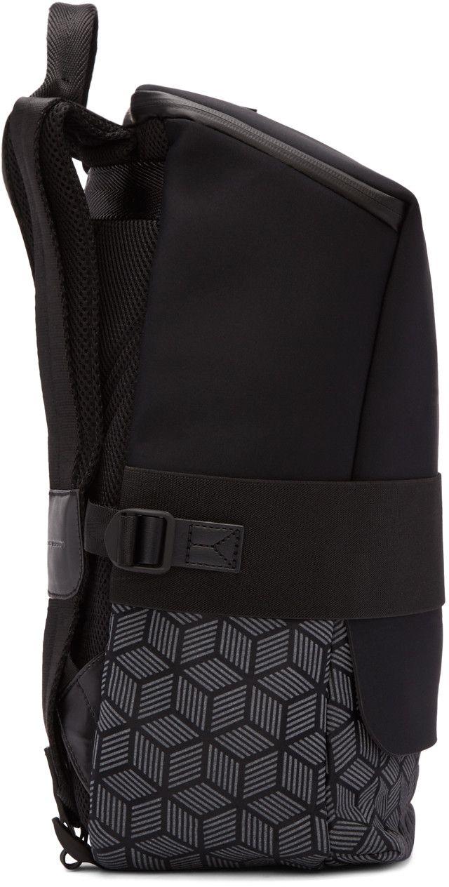 4ba1e548157b Y-3 - Black Qasa Reflex Backpack