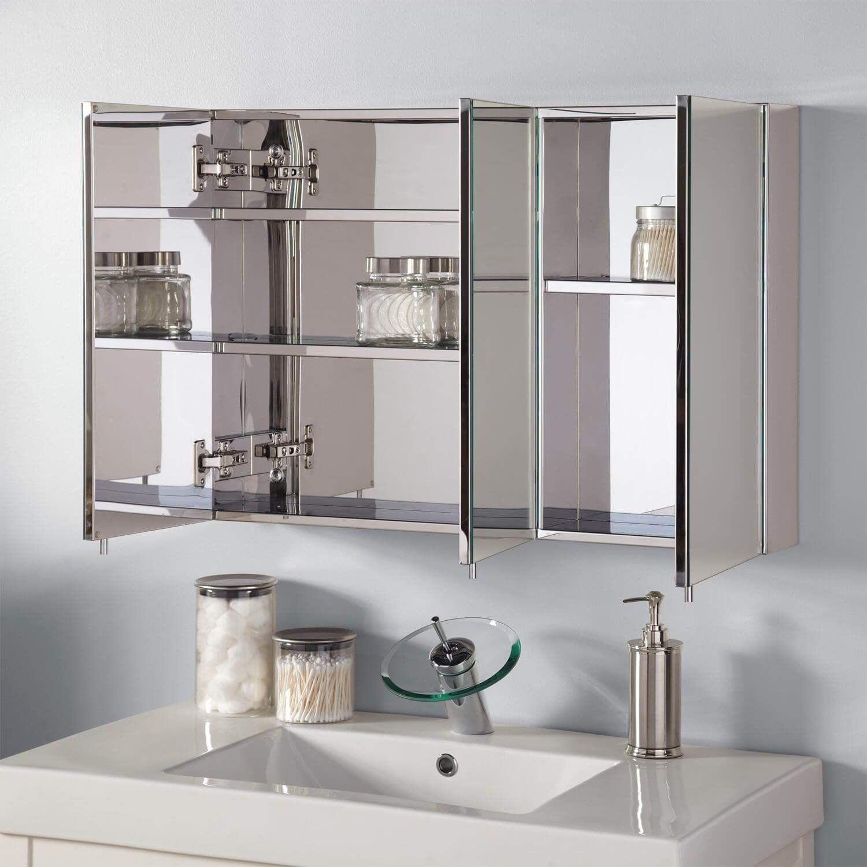 10 Bathroom Medicine Cabinet Ideas 2020 The Helpful Ones In 2020 Large Bathroom Design Large Bathroom Mirrors Industrial Style Bathroom