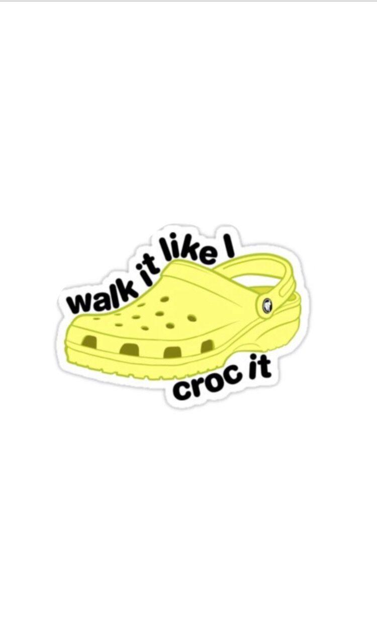 Crocs iPhone wallpaper