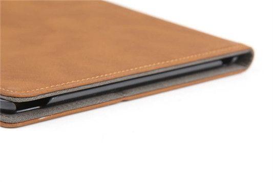 Lederhülle im alten Stil für iPad Air 2 - spitzekarte.com