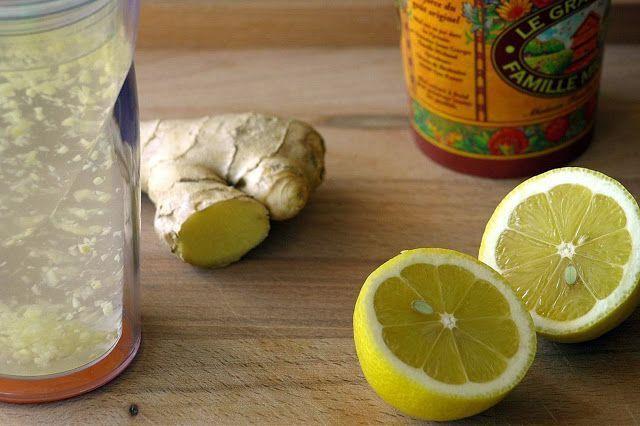 Élixir citron, à prendre le matin au réveil : - 1 tasse d