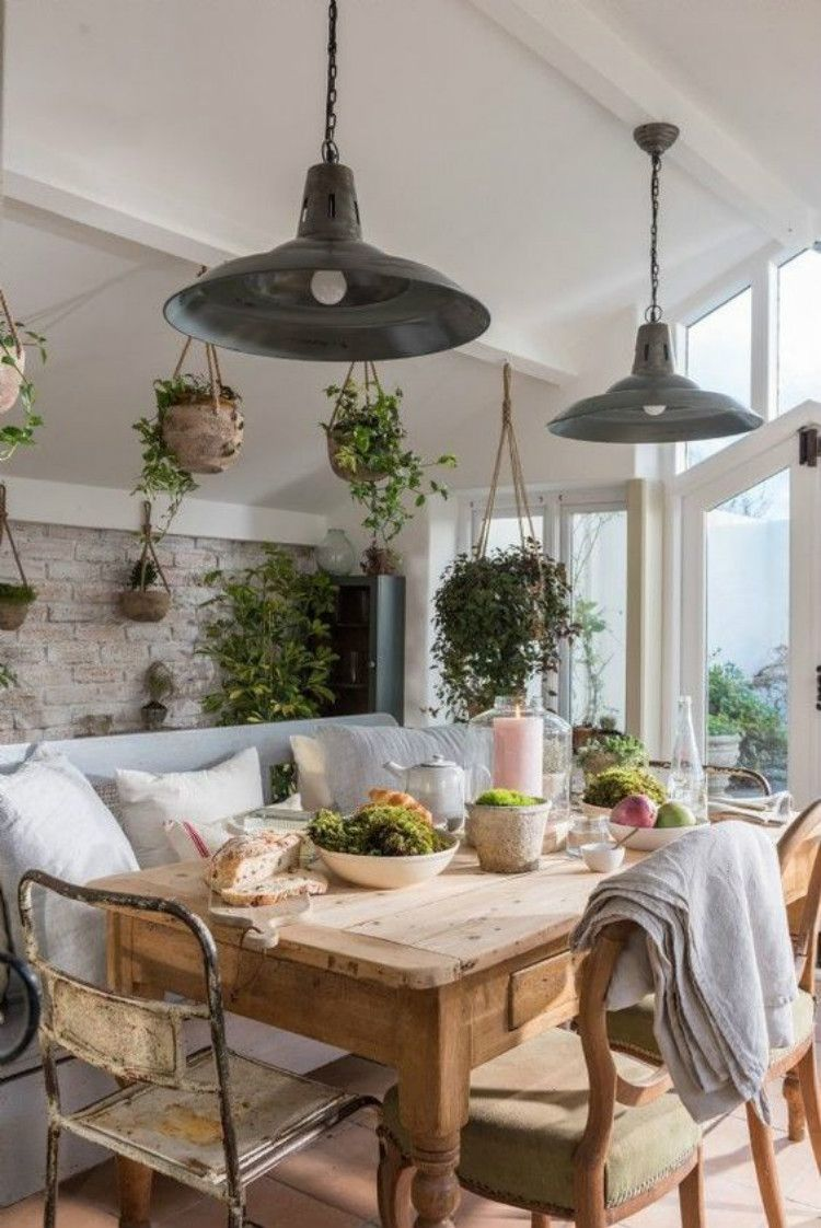 30 Stunning And Cozy Dining Room Decoration Ideas You Must Love Women Fashion Lifestyle Blog Shinecoco Com Cottage Dining Rooms Dining Room Decor Rustic Farmhouse Style Dining Room Cozy dining room decorating
