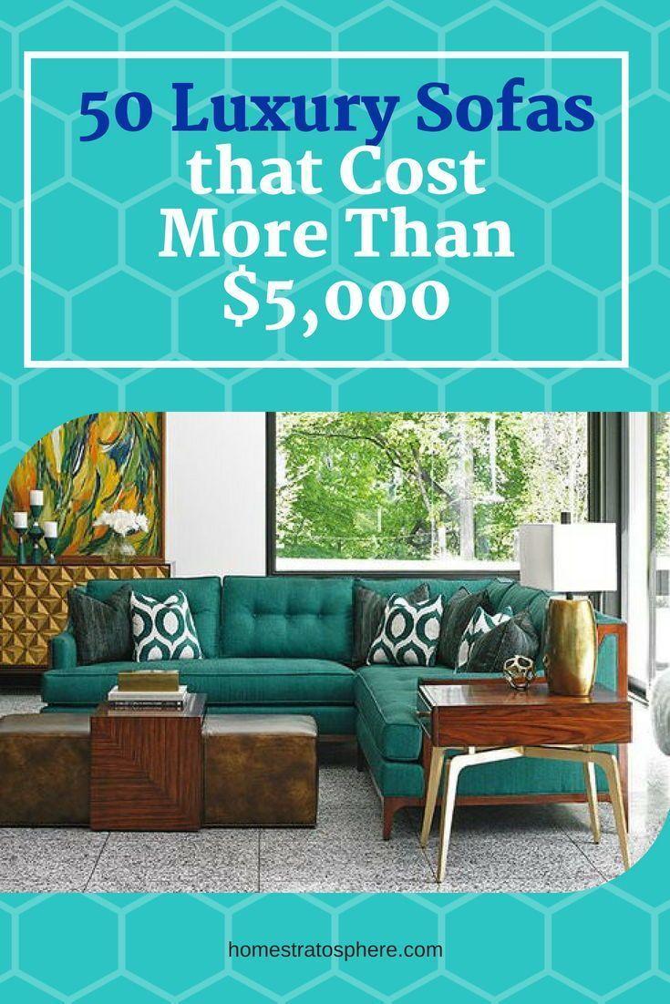 50 Expensive Luxury Sofas. #luxurysofa #sofa #luxury #homeideas ...