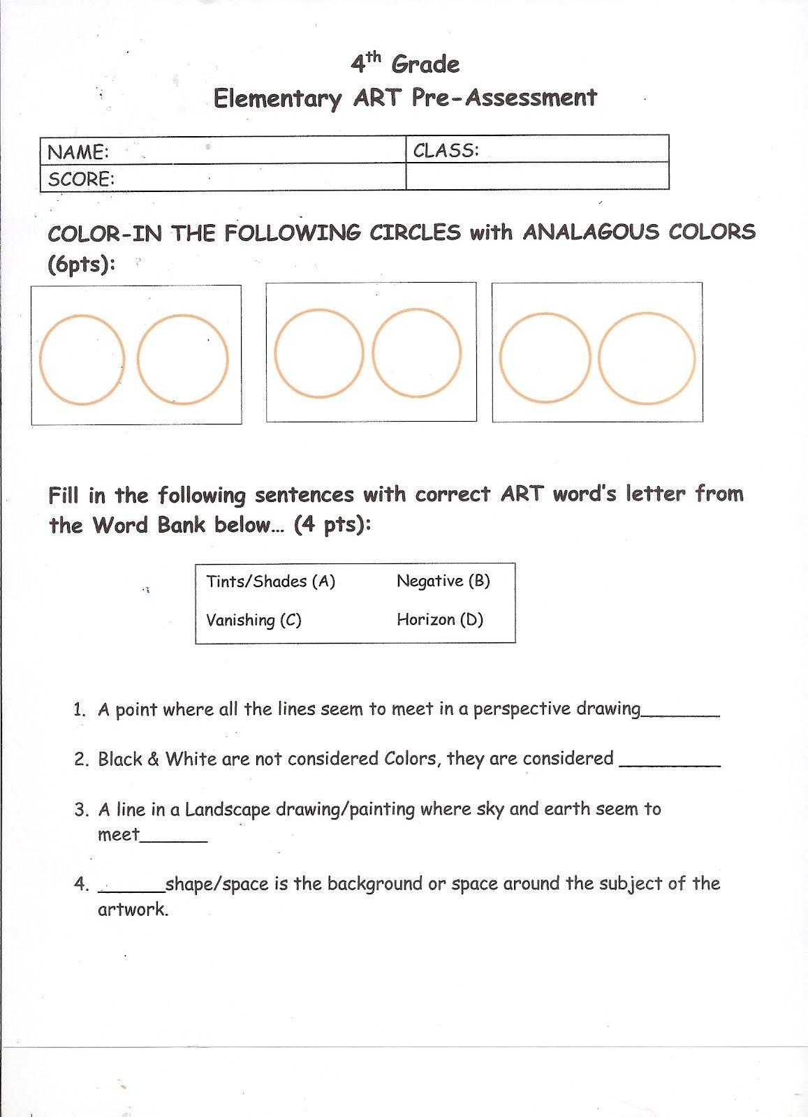 Art Is From The Heart Art Classroom Management Art Rubric Art Curriculum [ 1600 x 1157 Pixel ]
