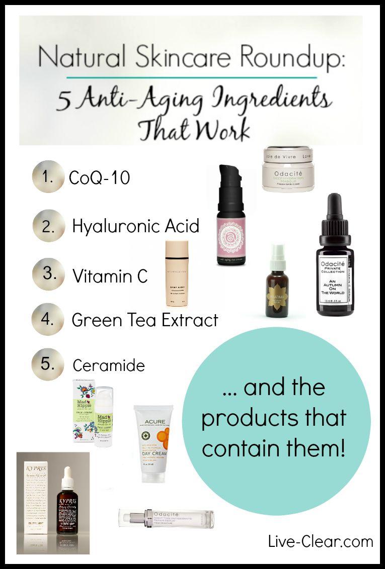 anti aging cream ingredients
