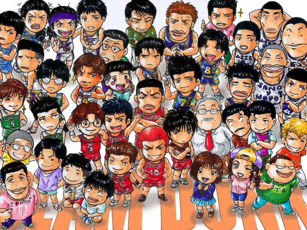 Slam Dunk Chibi Anime wallpapers Pinterest Slam dunk