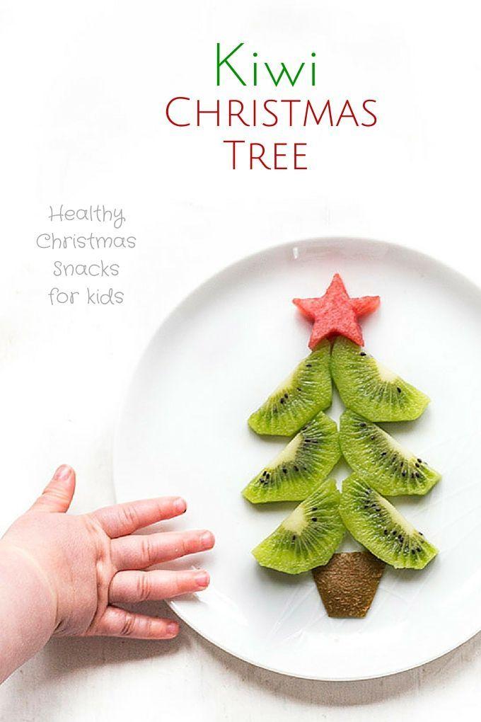 Kiwi Christmas Tree Recipe Kiwi, Christmas tree and Snacks