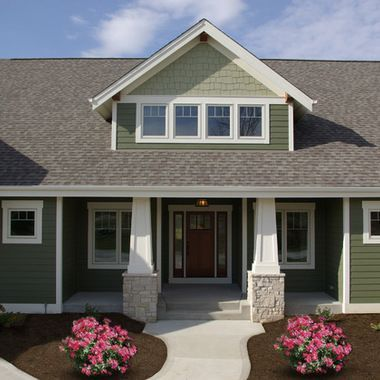 James Hardie Mountain Sage Siding Food Recipe House Paint Exterior Green Exterior House Colors Craftsman House