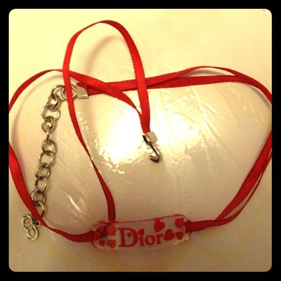 """Spotted while shopping on Poshmark: """"Christian Dior necklace/choker""""! #poshmark #fashion #shopping #style #Christian Dior #Jewelry"""