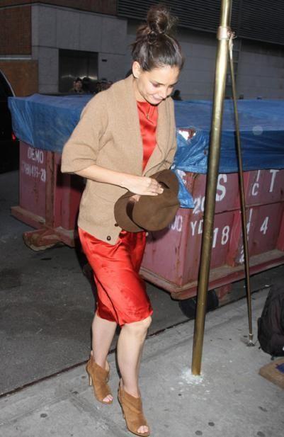 $1040 NIB Fabulous MAISON MARGIELA Open Toe Black Boots, 39 seen on Katie Holmes #MaisonMartinMargiela #OpenToeBoots