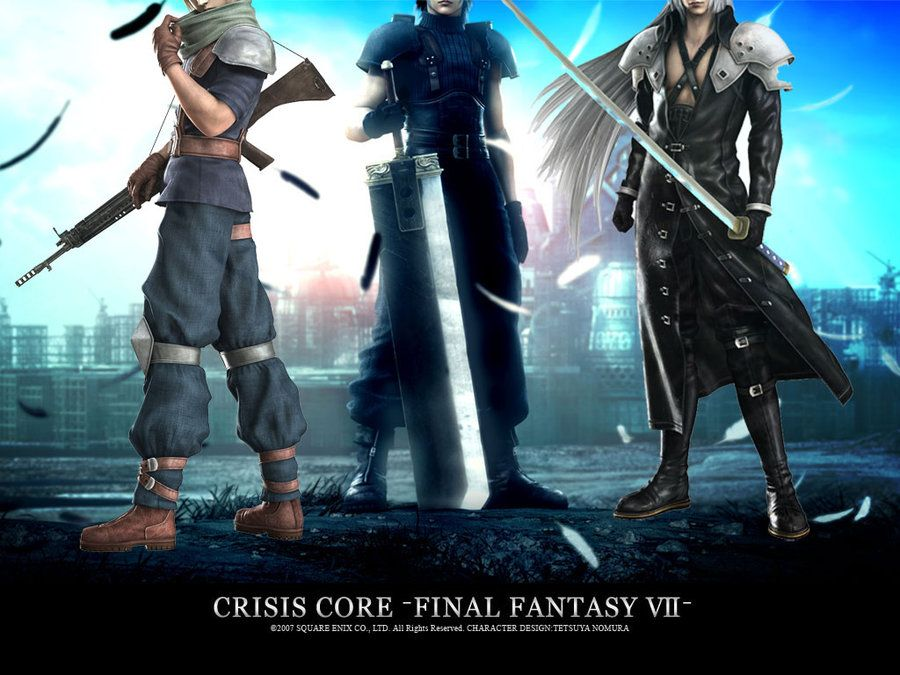 final fantasy crisis core pc