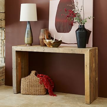 Emmerson 174 Reclaimed Wood Console Natural Reclaimed Wood
