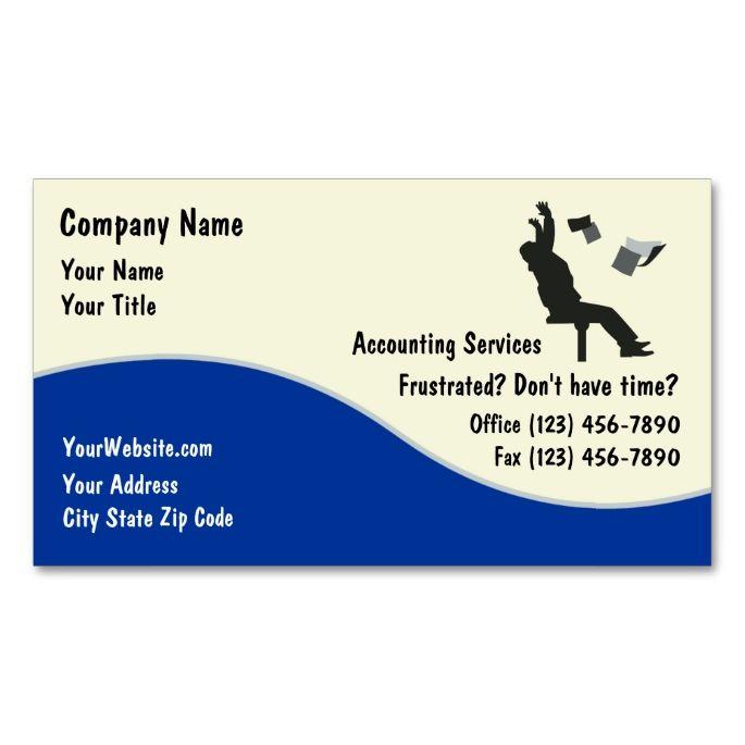 Accountant Business Cards   Zazzle.com   Accountant ...
