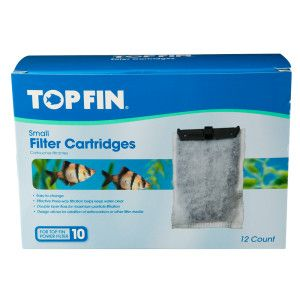 Top fin aquarium filter cartridge filter media for Petsmart fish filters