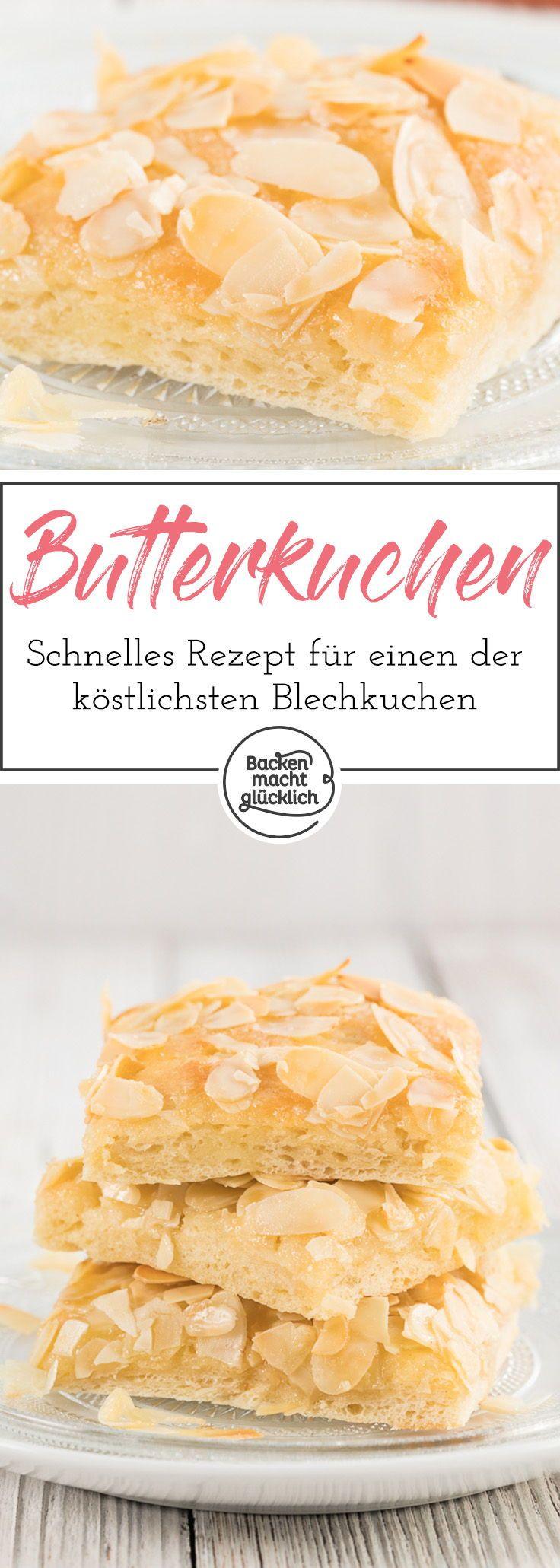 butterkuchen mit mandeln rezept backmischung. Black Bedroom Furniture Sets. Home Design Ideas
