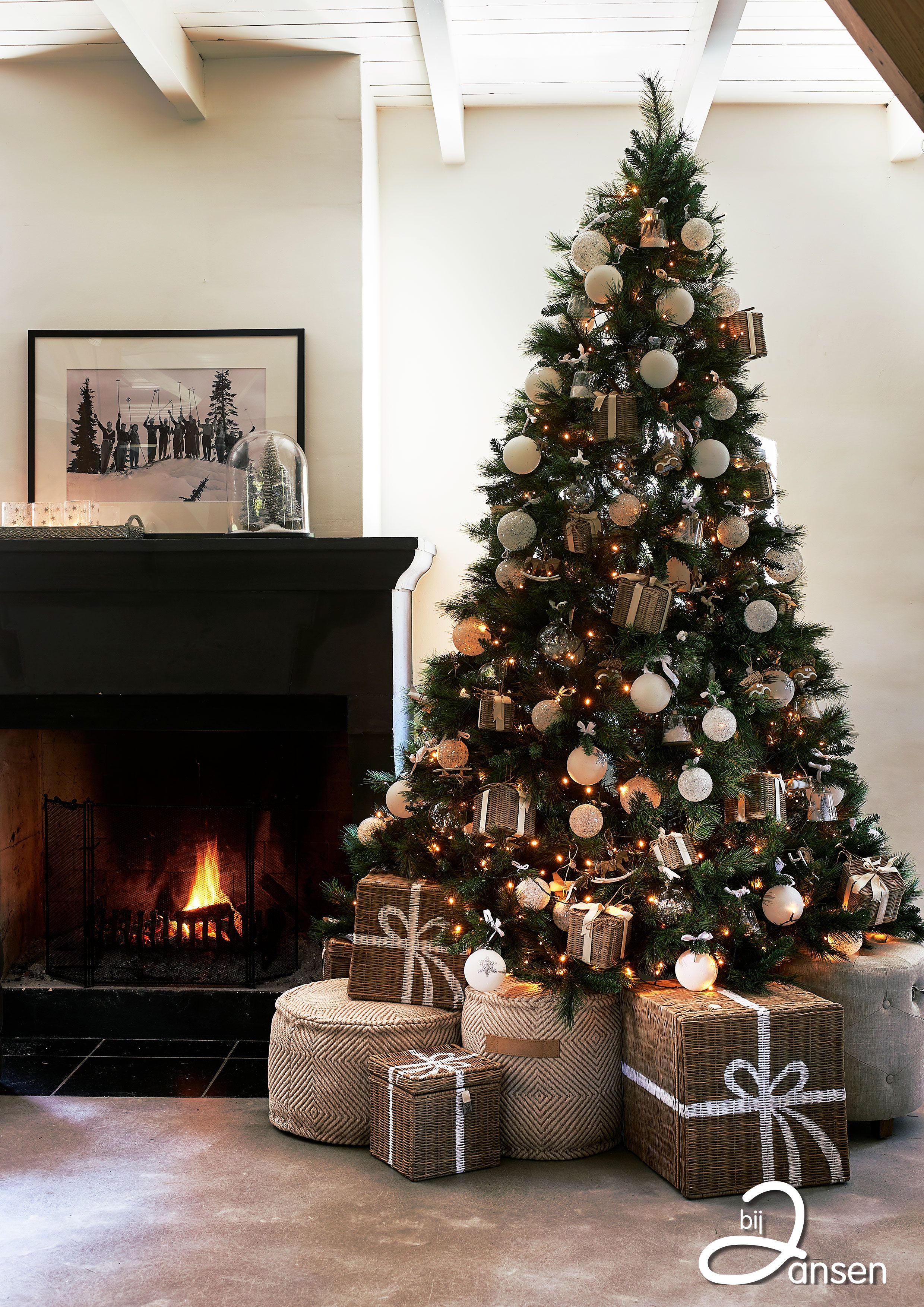 Kerst Bij Jansen Versierde Kerstbomen Kerst Woonkamers Kerst