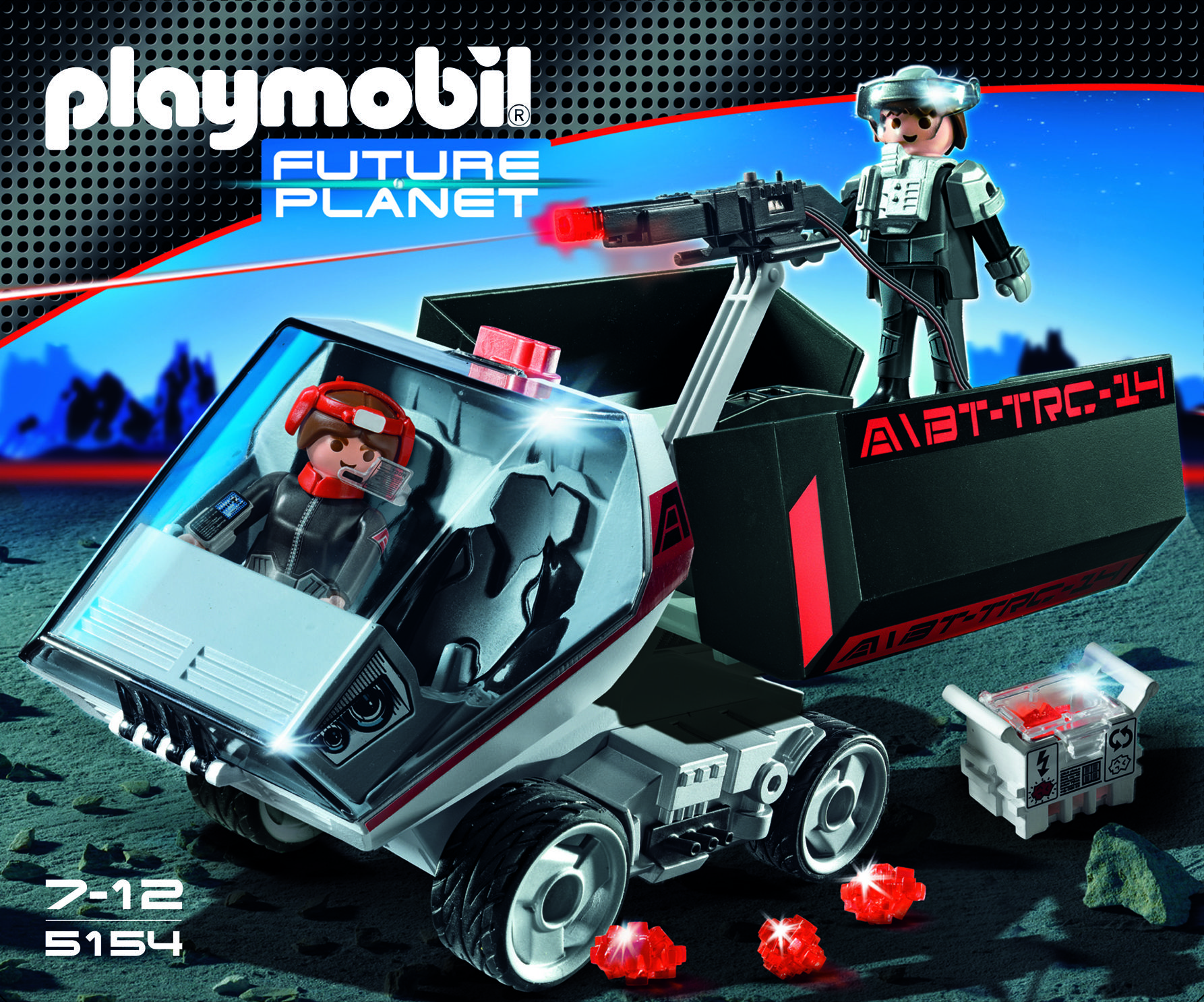 5156 Darkster Playmobil Future Planet