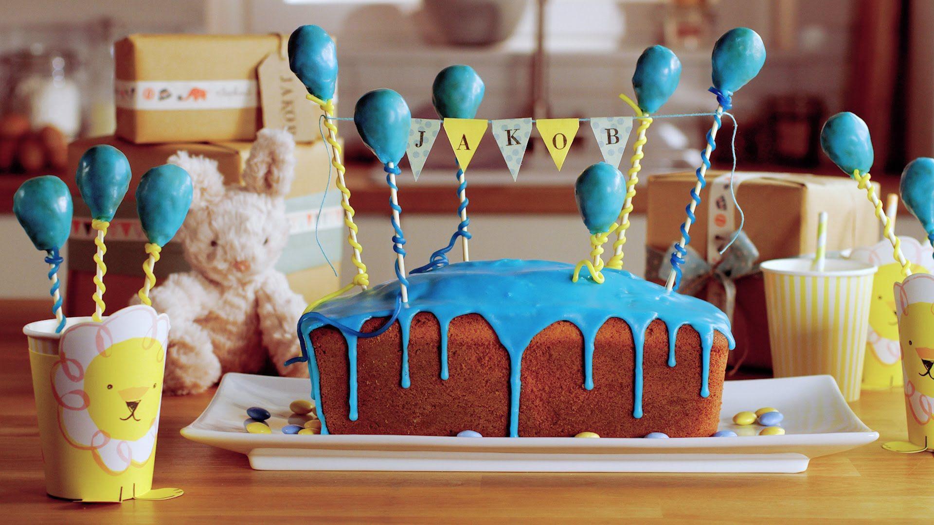Rezept: 1. Geburtstagskuchen Von Dr. Oetker. 1 GeburtstagskuchenEinladung  KindergeburtstagTolle TortenEinfacher ...