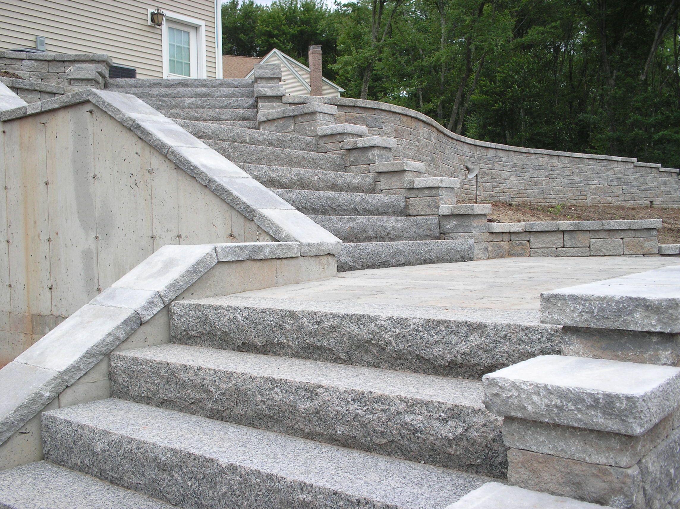 Best Granite Steps Cottage Door 400 x 300