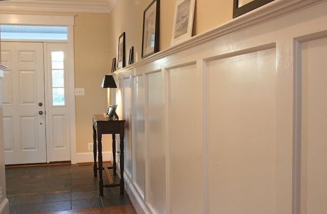 Tall Wainscot With Shelf Yahoo Image Search Results