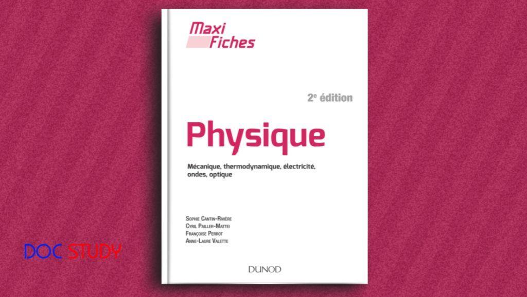 Pdf Maxi Fiches De Physique 2e Ed Mecanique Thermodynamique Electricite Ondes Optique Accounting