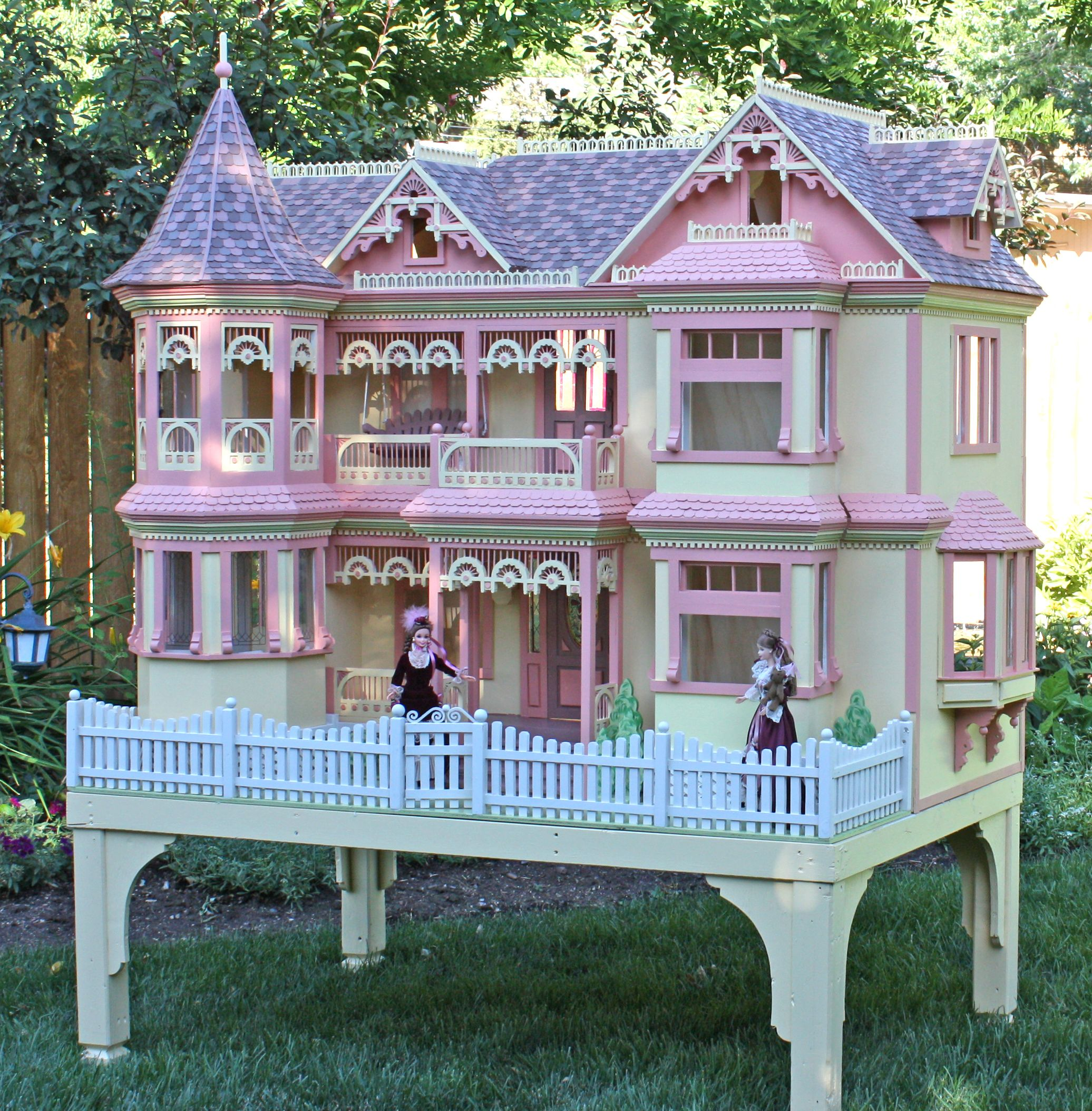 Victorian color 2072 2108 a place to call home for Victorian doll house plans