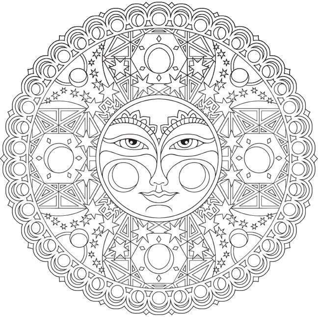 Creative Haven Celestial Mandalas Coloring Book Welcome To