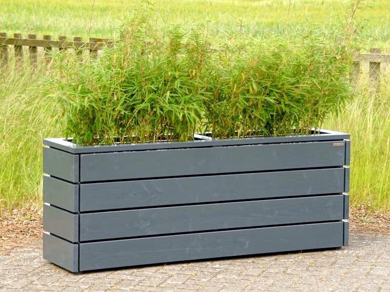 Kräuterbeet / Pflanzkasten / Pflanzkübel Holz Lang M, Höhe
