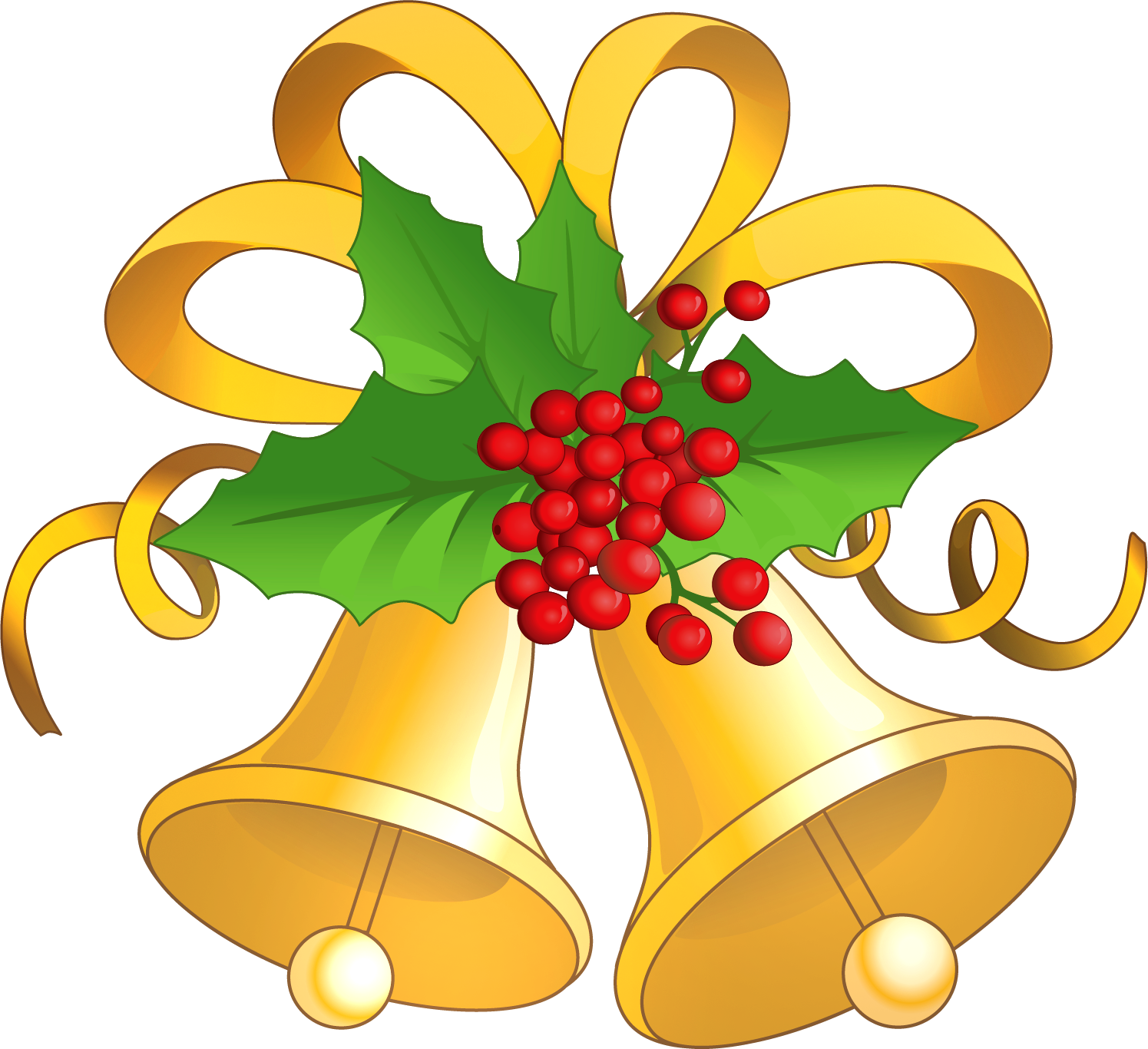 christmas bells clip art gold clipart gallery free clipart rh pinterest com clipart christmas bells holly clipart christmas bells border