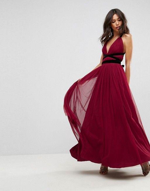 Pinda Holographic High Waisted Flare Skater Dress | bgirls2 ...