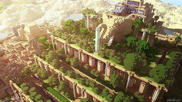 Babylon Download Minecraft Project Babylon Map Gate Of Babylon Tower Of Babel