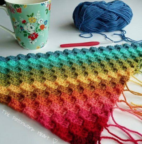 Corner To Corner Crochet Pattern Blanket Ideas Video Tutorial #c2cbabyblanket