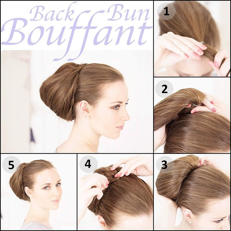 Peachy Romantic Hairstyles And Buns On Pinterest Hairstyle Inspiration Daily Dogsangcom