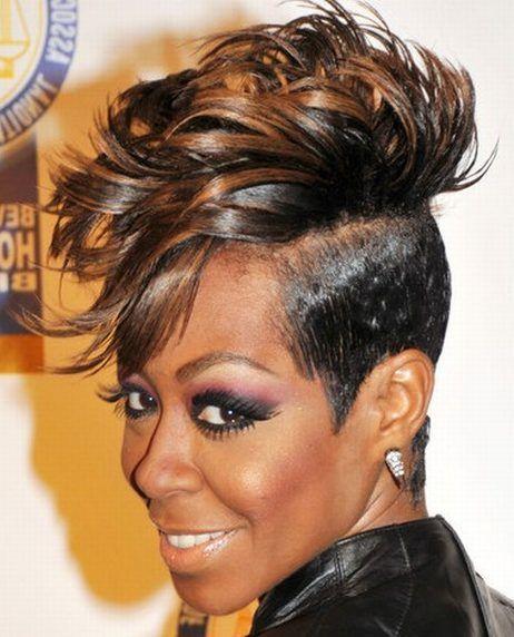 asymmetrical haircuts for black women | tichina arnold youth srt ...