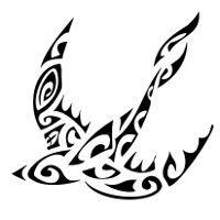 Tatuaggio Di Rondine Liberta Fedelta Tattoo Tattootribes Com Swallow Tattoo Tattoos Maori Tattoo