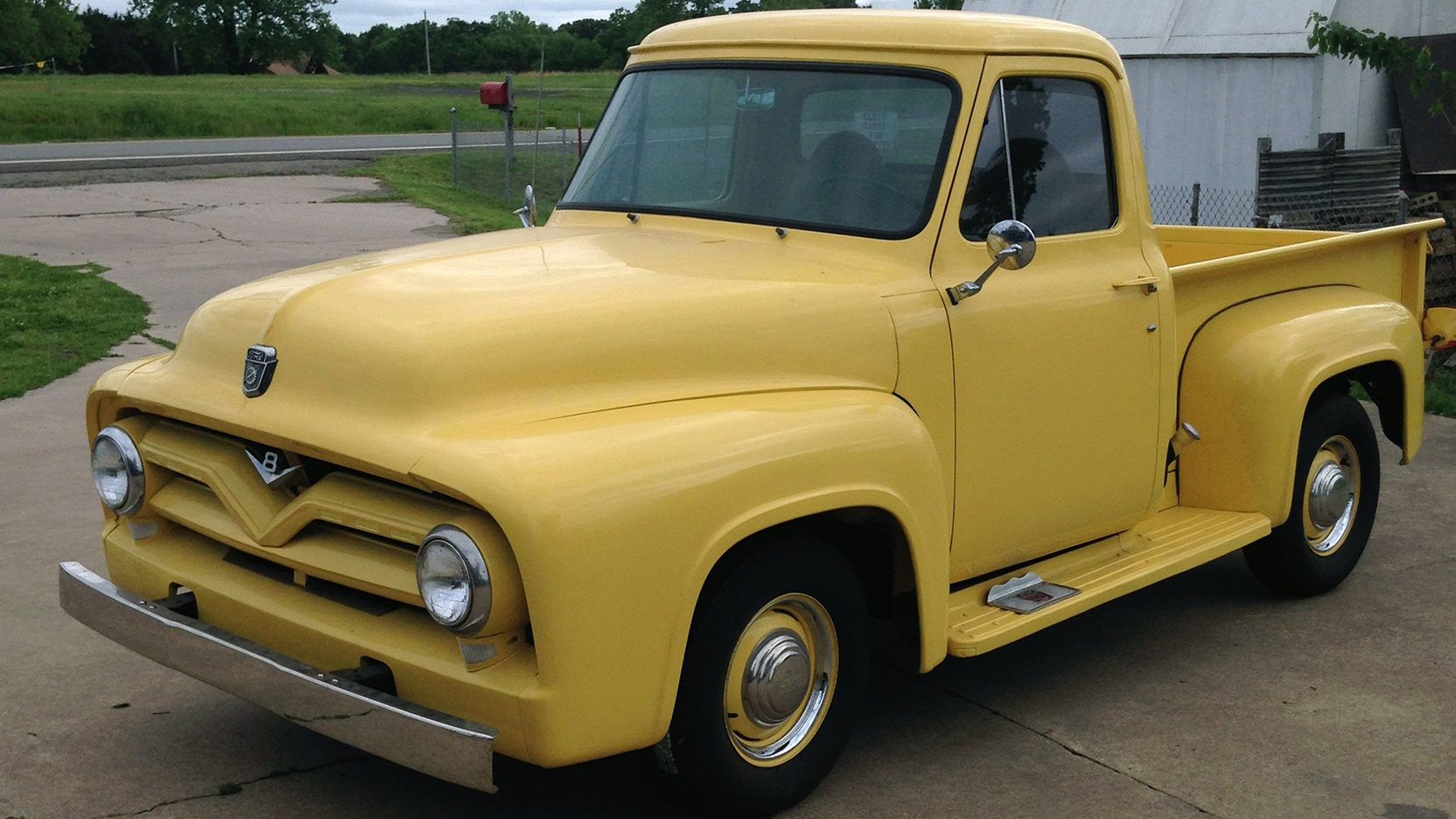 1955 Ford F100 Presented As Lot S5 At Denver Co Truck Engine Pickup Small Block Automatic Indianapolis In 2016