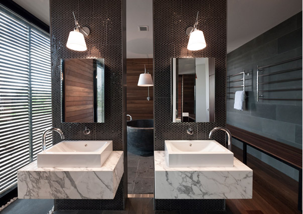 Modern inspired design - bathroom
