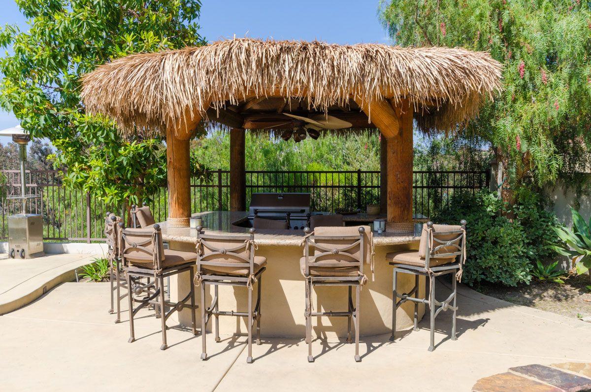 A San Diego poolside palapa bar.... fun | Palapas ... on Palapa Bar Backyard id=50738