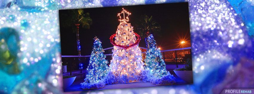 Pretty Christmas Trees Images For Facebook Timeline Christmas Facebook Cover Christmas Tree Images Christmas Cover